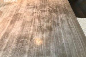 Table Top Restoration