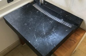 Marble Vanity Etch Damage